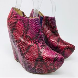 Jeffrey Campbell Zoe Hidden Wedge Booties Shoes
